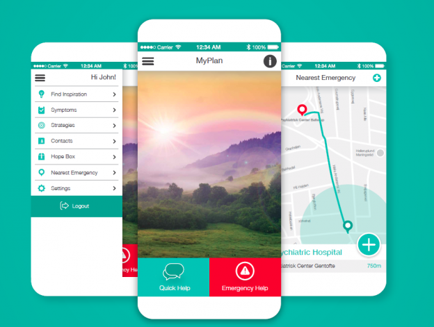 MYPLAN – a self-help tool for management of crisis