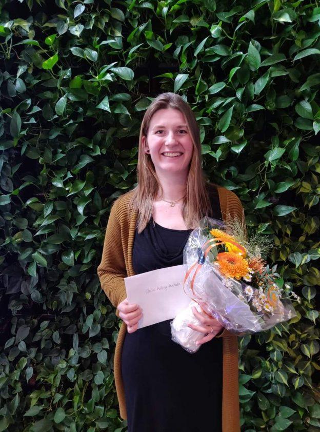DRISP student receive prize
