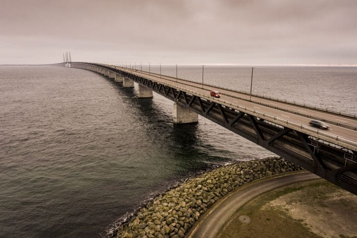 Peberholm & Øresundsbroen.