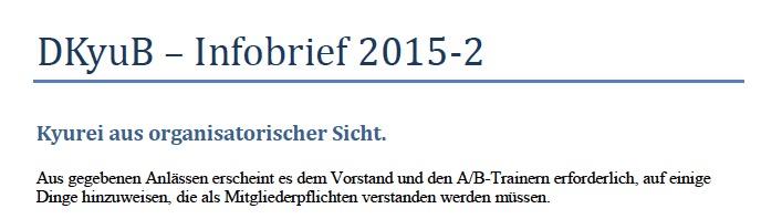 Infobrief 2015-2 DKyuB