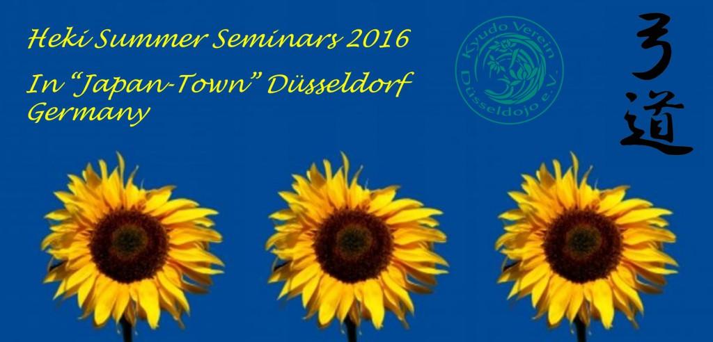 Sommer Seminare 2016