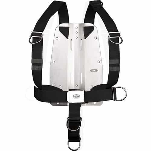 TecLine Harness DIR justerbar m/3mm bakplate