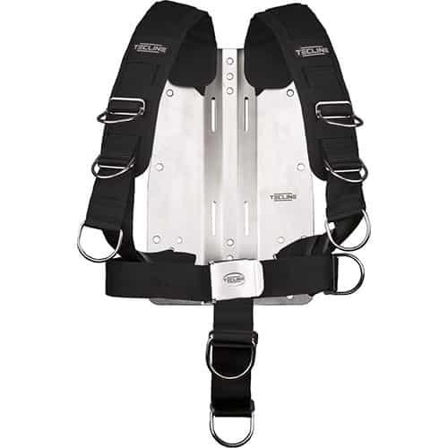 Tecline 6mm Bakplate m/komfort harness