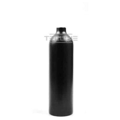 Alu flaske svart 0,85 L u/kran