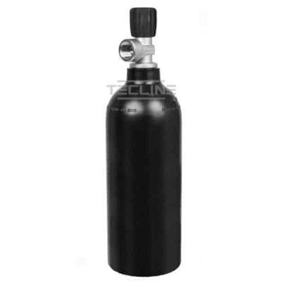Alu flaske svart 1,5 L m/kran