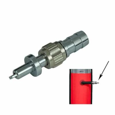 Metall innblåsventil til decobøye