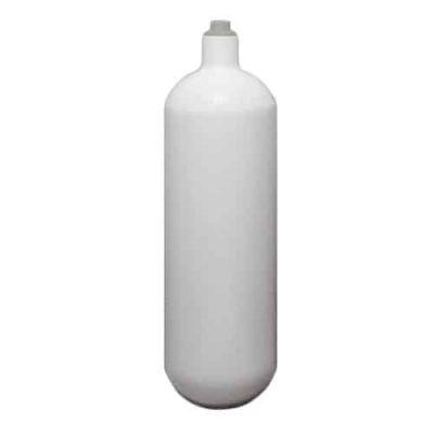 Stål flaske 1L 200 Bar, M18x1,5 uten kran