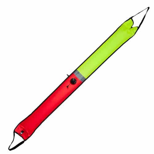 Tecline DUAL bøye, orange/gul 20/166cm