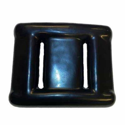 Bly lodd 1,2 kg plastbelagt, svart
