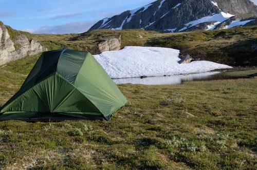 Vikafjell og telt