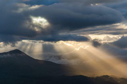 Morgon lys over Kvamskogen