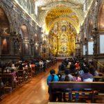 Kathedraal in Quito stadstour Ecuador