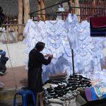 Traditionele markt in Guamote Ecuador reizen
