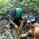 Waorani Huarani Tena Amazone kayak tour Ecuador