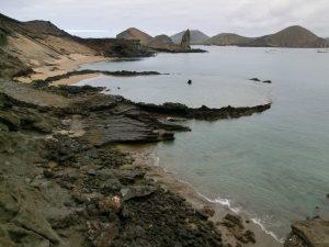 Klimaat op de Galapagos een bewolkte dag