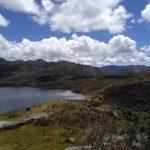 Uitzicht Cajas nationaal park Ecuador reis