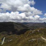 Uitzicht over Cajas tijdens Ecuador reis