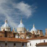 Ecuador reizen kathedraal in Cuenca