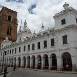 Koloniale centrum in Cuenca Ecuador