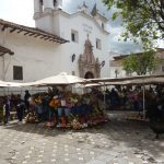 Lokale markt in Cuenca