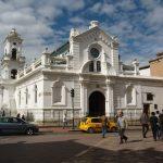 Koloniale kerk in Cuenca