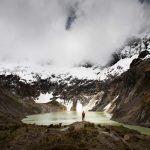 Krater meer van El Altar vulkaan