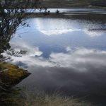 Meer in Cajas natuurreservaat trekking Ecuador