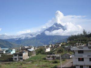 Tungurahua vulkaan Baños Ecuador reizen