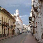 Koloniale straten in Cuenca