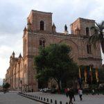 Kathedraal in Cuenca stadstour Ecuador