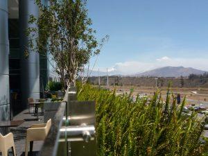 Cotopaxi uitzicht vanaf vliegveld Quito Ecuador reisadvies