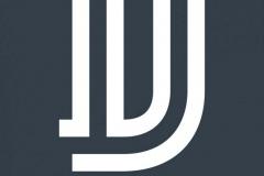 EL DIEZ logotipo vertical negativo