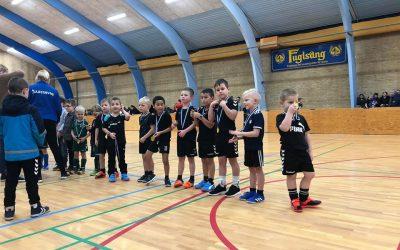 Børnefodbold U7 og U8 indendørs starter fra uge 43