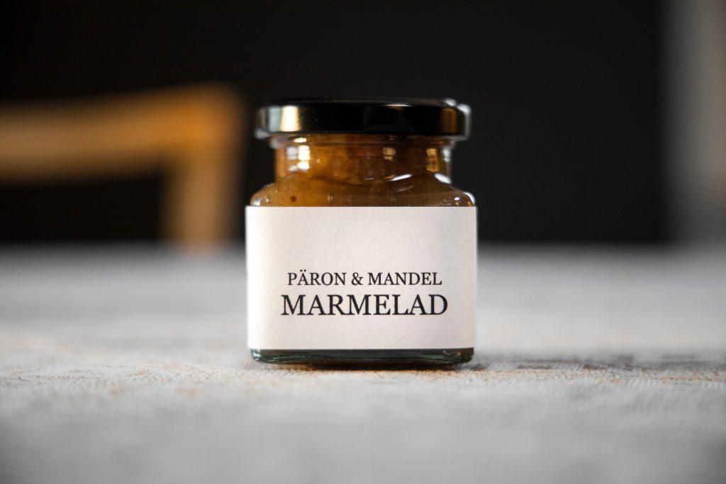 päron och mandel marmelad