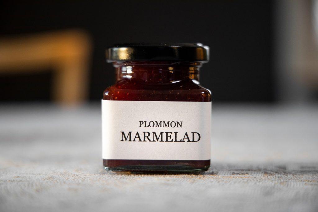 plommon marmelad
