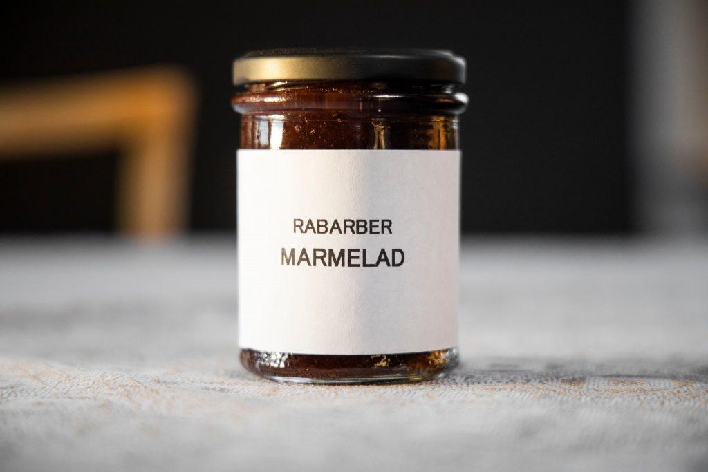rabarber marmelad