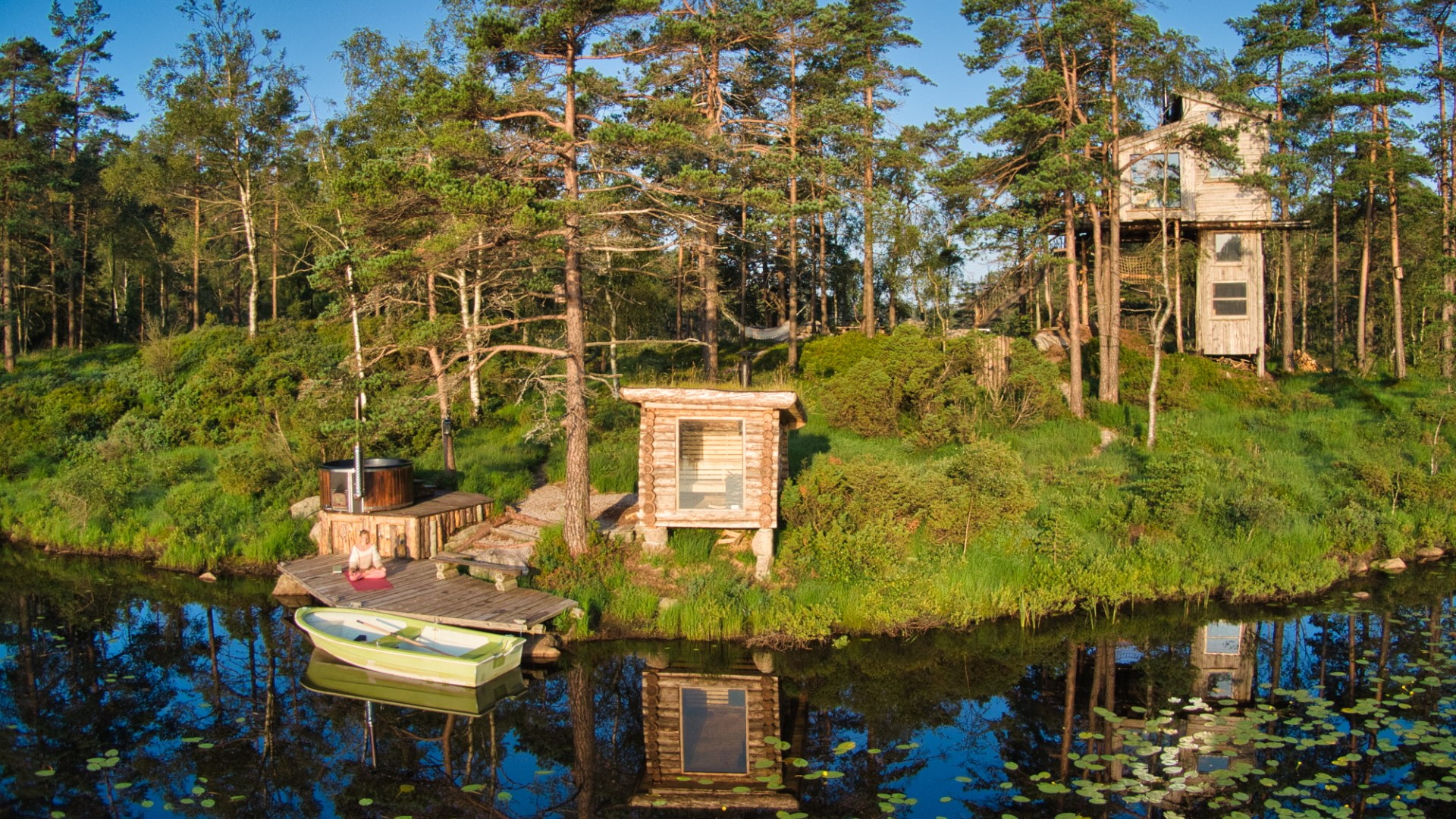 Norwegian Treehouse with private SPA