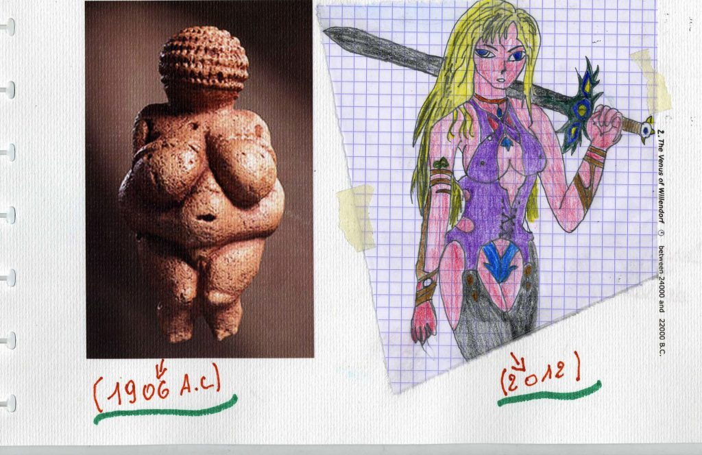 Laurent interprets the prehistoric Venus.