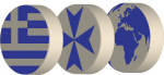 Greece Backgammon Logo