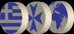 Greece Backgammon Logo