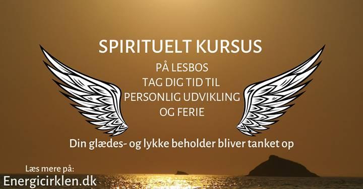 Spirituelt kursus på Lesbos. Personligudvikling og ferie