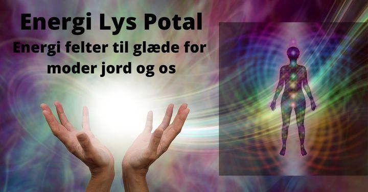Energi Lys Potal for at hæve energien på vor jord.