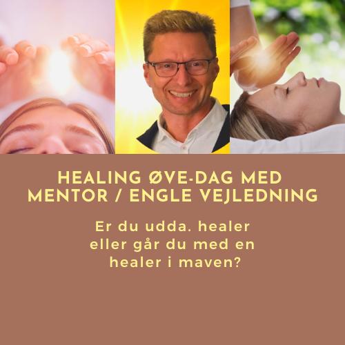 Healer øve-dag, healings lys og profilbillede af Finn