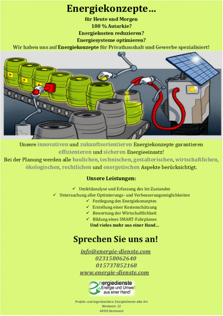 innovative Energiekonzepte