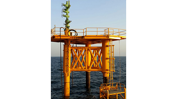 2H Offshore has completed the installation of a Retrofit CSP, offshore Bahrain