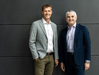 From left, CEO Henrik Lind, Danske Commodities, and Tor Martin Anfinnsen, senior vice president, Marketing & Supply in Equinor (photo: Thomas Priskorn/PRISKORN)