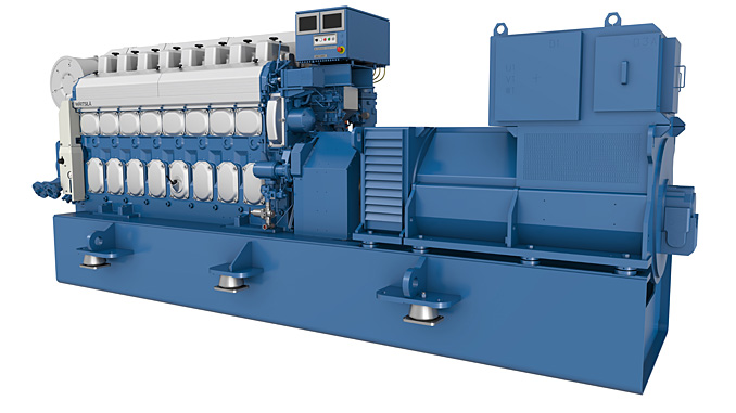The upgraded Wärtsilä 20 Generating Set (photo: Wärtsilä)