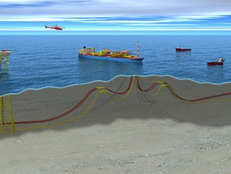 Peregrino field, phase 1 (illustration: Equinor)
