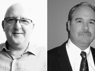 Martin Kobiela, new InterMoor president and Tom Fulton, new global chief technology officer (photos: InterMoor)