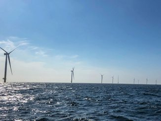 The Arkona offshore wind farm, located in the German part of the Baltic Sea